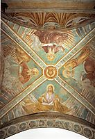 Tabernacle of the Madonna delle Tosse: Four Evangelists, 1484, gozzoli