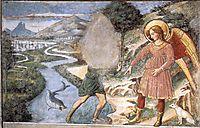 Tobias and the Fish, 1465, gozzoli