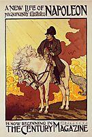 Affiche pour The Century Magazine, Napoléon, grasset