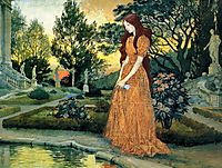 Girl in the Garden, grasset