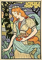 Grafton Gallery, from Les Affiche Illustrees , 1897, grasset