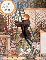 La Belle Jardiniere – February, 1896, grasset