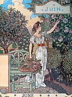 La Belle Jardiniere – June, 1896, grasset