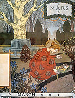 La Belle Jardiniere – March, 1896, grasset