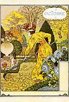 La Belle Jardiniere – Octobre, 1896, grasset