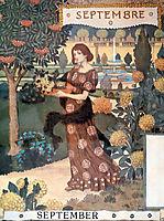 La Belle Jardiniere – Septembre, 1896, grasset