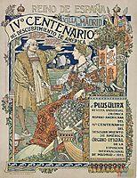 Ne Plus Ultra. Reino de Espana , 1893, grasset