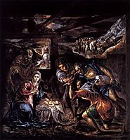 Adoration of the Shepherds, c.1570, greco