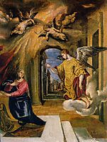 The Annunciation, 1576, greco