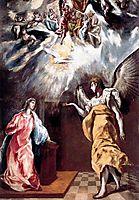 Annunciation, c.1610, greco