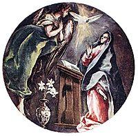 Annunciation, c.1604, greco