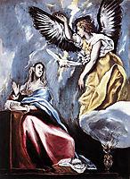 Annunciation, c.1600, greco