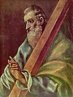 Apostle St. Andrew, c.1610, greco