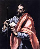 Apostle St. Paul, c.1612, greco