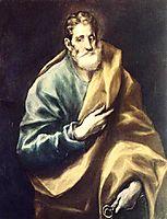 Apostle St. Peter, c.1612, greco
