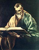 Apostle St. Simon, c.1612, greco