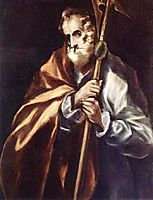 Apostle St. Thaddeus (Jude), c.1612, greco