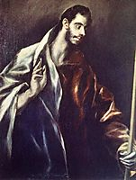 Apostle St. Thomas, c.1612, greco