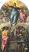 Assumption of the Virgin, 1577, greco