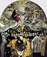 The Burial of the Count of Orgaz, 1587, greco