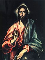 Christ as Saviour , c.1612, greco