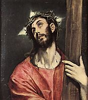 Christ carrying the cross, c.1595, greco