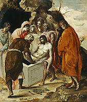 The Entombment of Christ, c.1570, greco