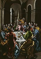 Feast in the House of Simon, c.1610, greco