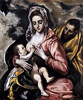 The Holy Family , c.1585, greco