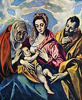 Holy Family with St. Anne, c.1605, greco