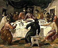 The Last Supper, c.1568, greco