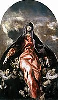 Madonna of Charity, c.1604, greco