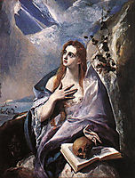 The Magdalene, 1576-1578, greco
