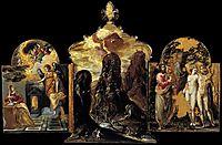 The Modena Triptych, 1568, greco
