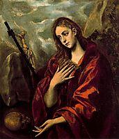 Penitent Magdalene, c.1590, greco