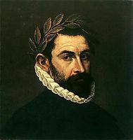 Poet Ercilla y Zuniga, 1590-1600, greco