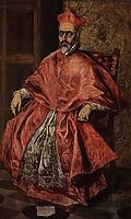 Portrait of a Cardinal (Probably Cardinal Don Fernando Niño de Guevara), c.1598, greco