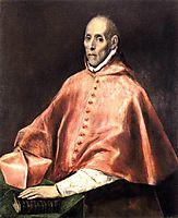 Portrait of Cardinal Tavera, c.1610, greco