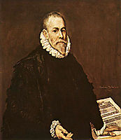 Portrait of a Doctor, 1577-1584, greco
