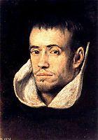 Portrait of Dominican Friar, c.1605, greco