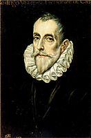 Portrait Of Don Rodrigo Vasquez, c.1605, greco