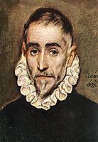 Portrait of an Elder Nobleman, 1584-1594, greco