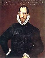 Portrait of a gentleman from Casa de Leiva, 1580, greco