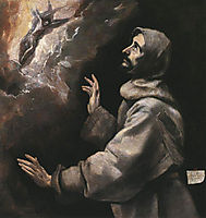 Saint Francis Receiving the Stigmata, 1577-1579, greco