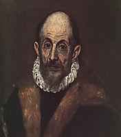 El Greco self-portrait, 1604, greco