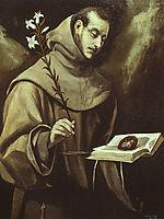 St. Antony of Padua, c.1577, greco