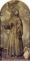 St. Bernardino of Siena, 1604, greco