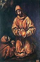St. Francis and Brother Rufus, 1606, greco