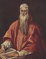 St. Jerome as Cardinal, c.1595, greco