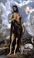 St. John the Baptist, c.1600, greco